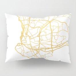 MARSEILLE FRANCE CITY STREET MAP ART Pillow Sham