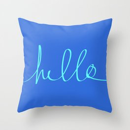 Hello, Sailor Throw Pillow