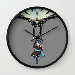 THE SWING GIRL Wall Clock