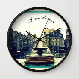 I Love London, Trafalgar Square Wall Clock