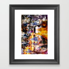 IMGmix-B & SUNRise (REcut-MOB) 19-08-2010 Framed Art Print