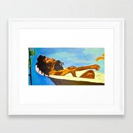 Replenish and Bloom Framed Art Print