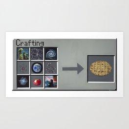 Making An Apple Pie From Scratch Art Print