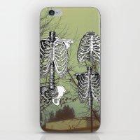 bones iPhone & iPod Skins featuring Bones by A C U L T