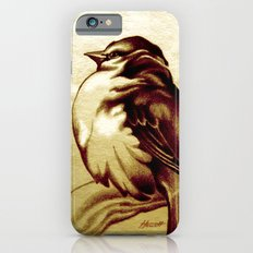 Sparrow in the Cold iPhone 6s Slim Case