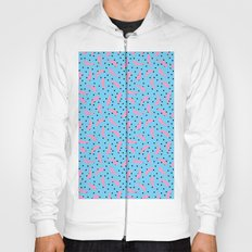 Pink Banana Peel on Baby Blue /// www.pencilmeinstationery.com Hoody