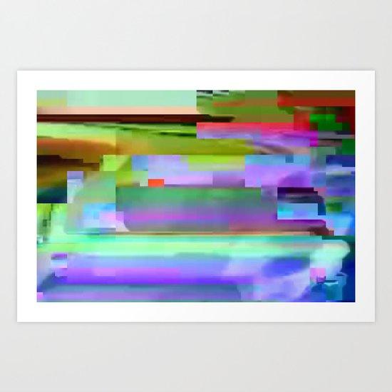scrmbmosh250x4a Art Print