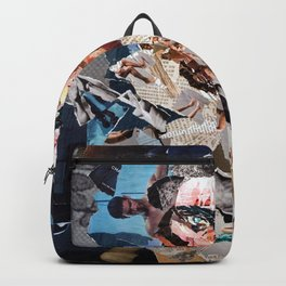 Gash Prince - Magazine Collage Backpack