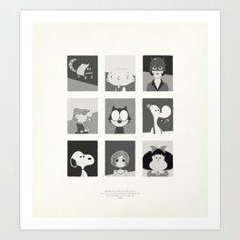 Super Mercredi Bros Heroes (2/8) Art Print