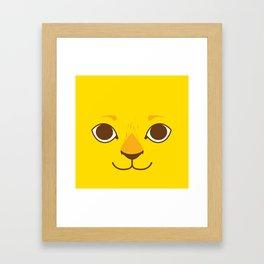 Little Lion Framed Art Print