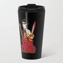 Slasher Mash (SFW) Travel Mug