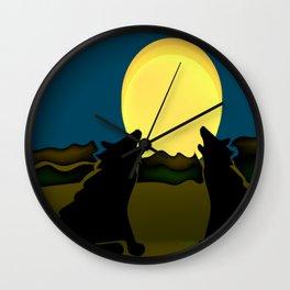 """Night Howl"" Wall Clock"