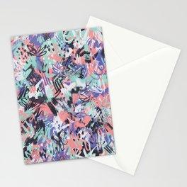 Aquarius - Paint Splatters Stationery Cards