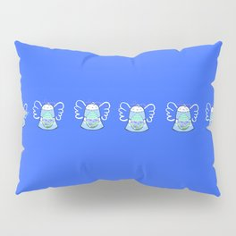 Blue Bell on Blue Pillow Sham
