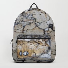 Natural Distressed Beach Drift Wood Textures Backpack
