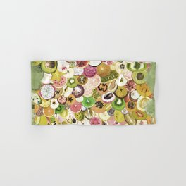 Fruit Madness (All The Fruits) Vintage Hand & Bath Towel