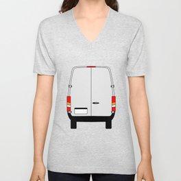 Small Van Back Doors Unisex V-Neck