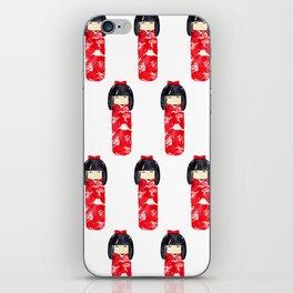 Kokeshi Doll iPhone Skin
