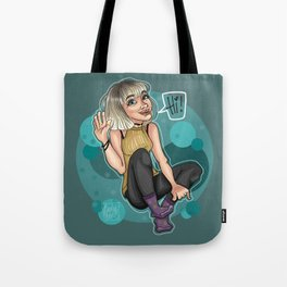 Blonde Beauty Tote Bag
