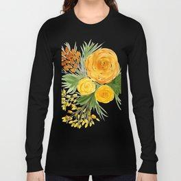 Harvest Floral Bouquet Long Sleeve T-shirt