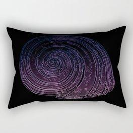 Lit Glass Nautilida Rectangular Pillow