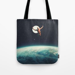 Returning to Earth with a will to Change Tote Bag