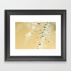 Fairy Dust Drops Framed Art Print