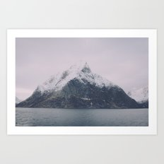 Pyramid Mountain Art Print