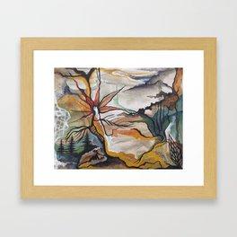 Windflower Framed Art Print