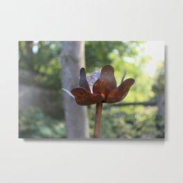 Metal flower Metal Print