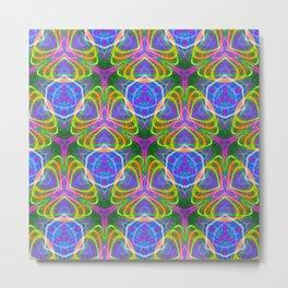 490.5 trippy tile Metal Print