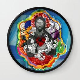 Sagrado Coração de Jesus (Sacred Heart) #2 Wall Clock