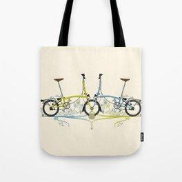 Brompton Bicycle cycling Tote Bag