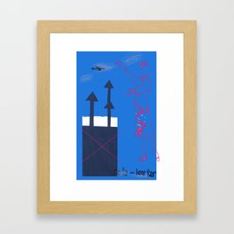 No ta to low tar! Framed Art Print