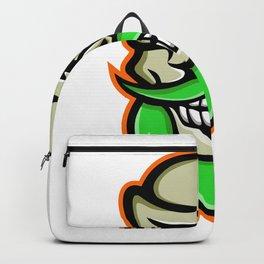 Bearded Skull or Cranium Mascot Backpack