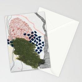 i'm moving forward/backward Stationery Cards