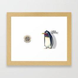 Corporate XMAS Mug Framed Art Print