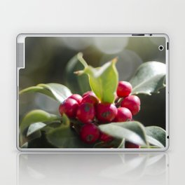 Holly Bokeh Laptop & iPad Skin