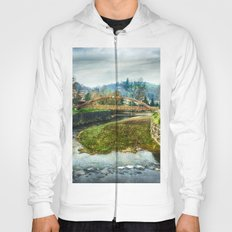 The river Sella and a bridge Hoody