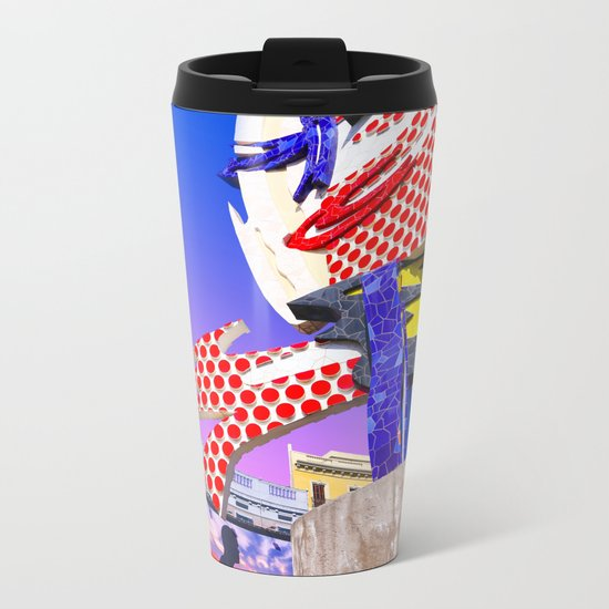 Hello Colors Metal Travel Mug