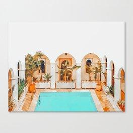 Turkish Holiday #painting #travel Canvas Print
