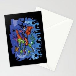 Crazy Witch Stationery Cards