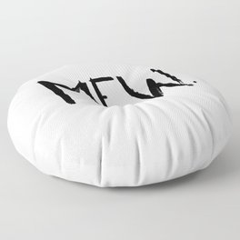 Mew. Floor Pillow