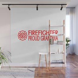 Firefighter: Proud Grandma (Florian Cross) Wall Mural