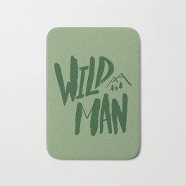 Wild Man x Green Bath Mat