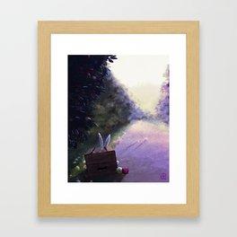 The Apple's Stealer Framed Art Print