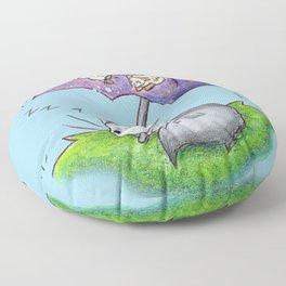 April Snooze Floor Pillow