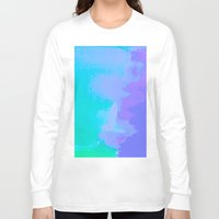 the little mermaid Long Sleeve T-shirts featuring Little Mermaid by HollyJonesEcu