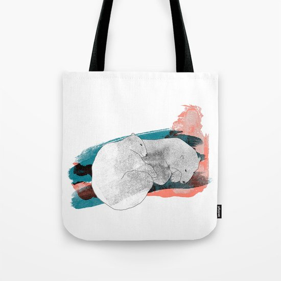 polar bears Tote Bag