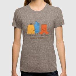 warmest greetings! T-shirt